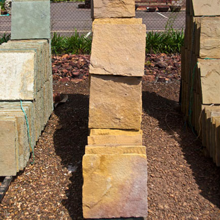 Yellow Sandstone Pavers 400mm²